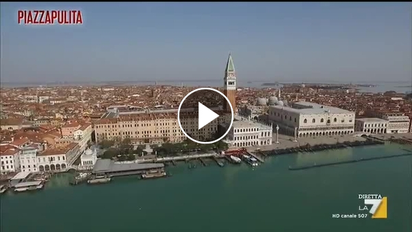 Venezia, la città che affonda nell'abisso del Covid