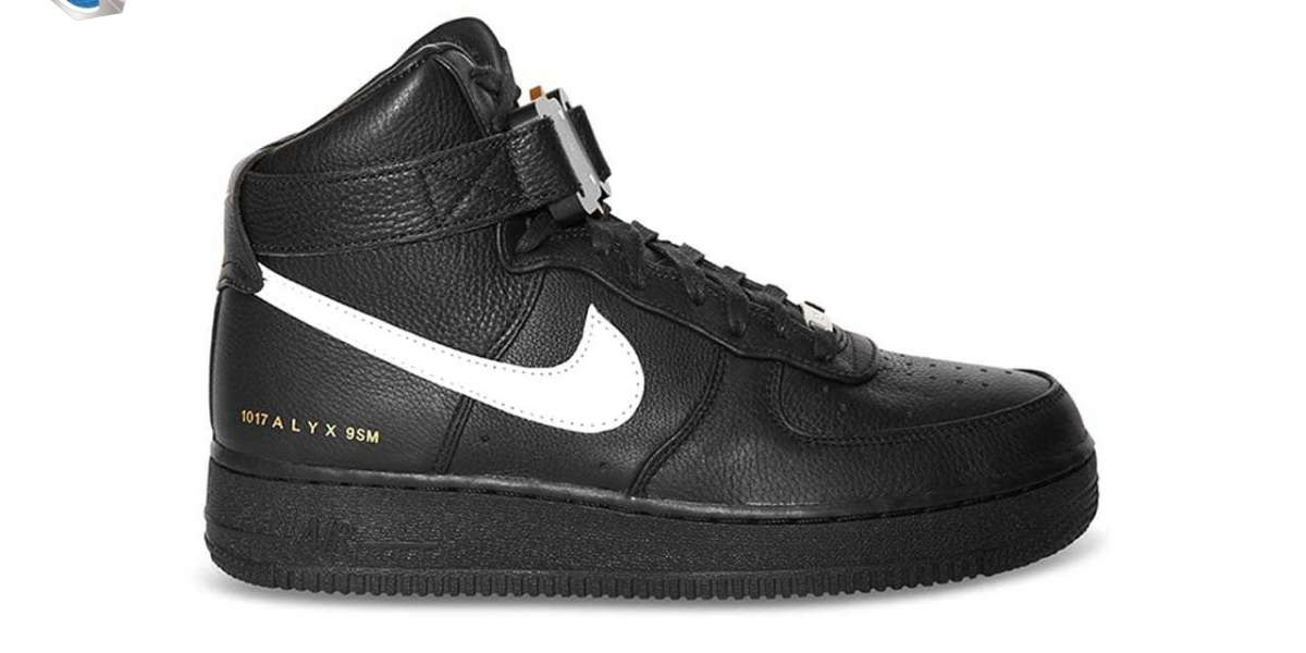 The upcoming 1017 ALYX 9SM x Nike Air Force 1 High sneakers