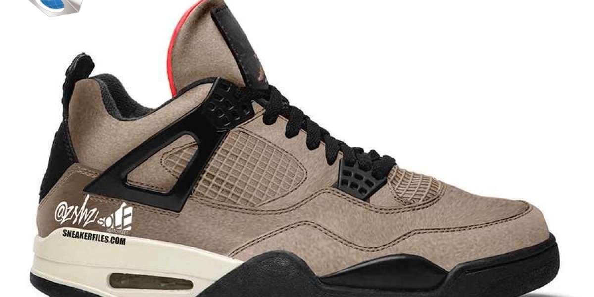 "2021 Release Air Jordan 4 ""Taupe Haze"" Basketball Shoes DB0732-200"