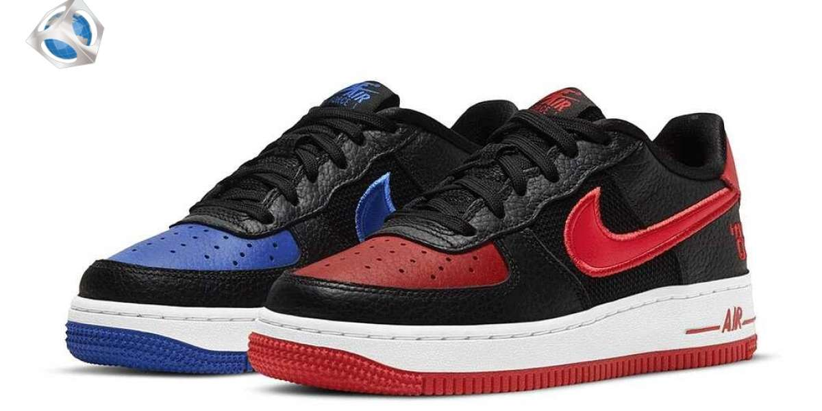 """Nike Air Force 1 Low """"82"""" University Red/Royal/Black Will Be Released Soon"""