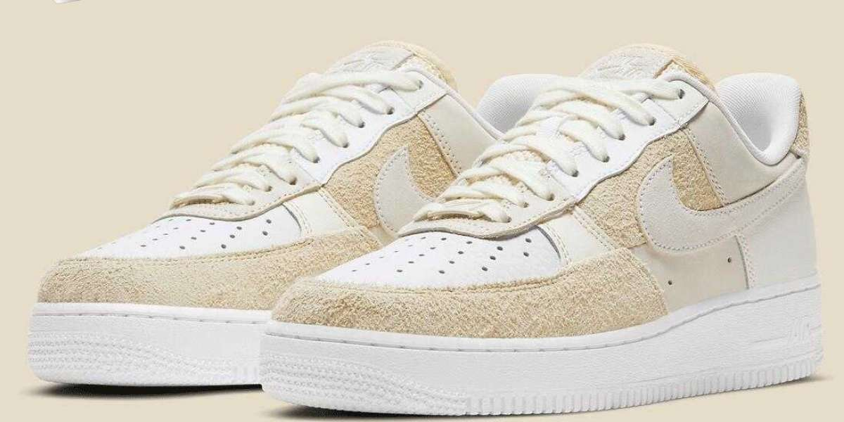 Awesome Nike Air Force 1 Low 07 White Coconut Milk to Release Soon