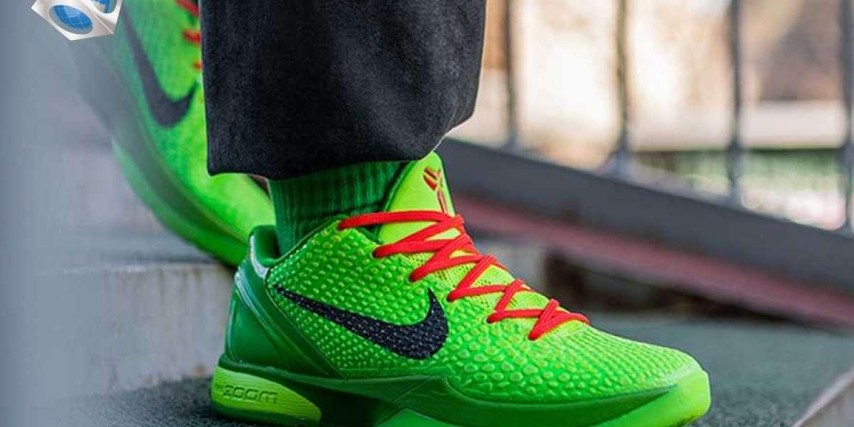 """Nike Kobe 6 Protro """"Grinch"""" was born in memory of Kobe"""