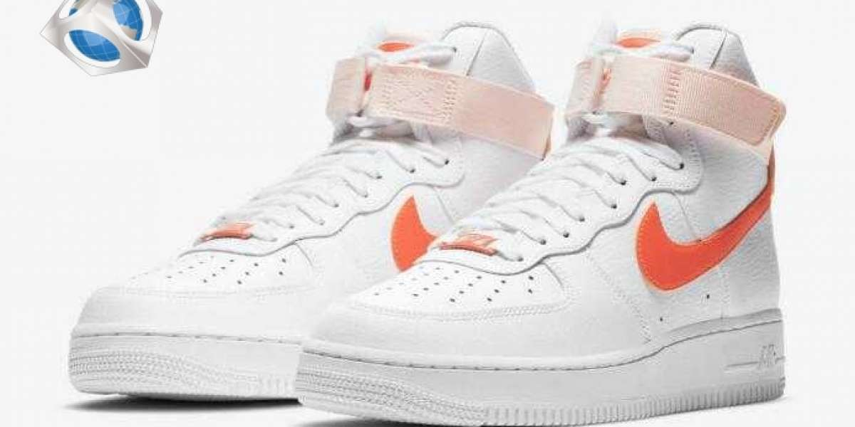 "2021 Nike Air Force 1 High ""Orange Pearl"" Arriving For Women"