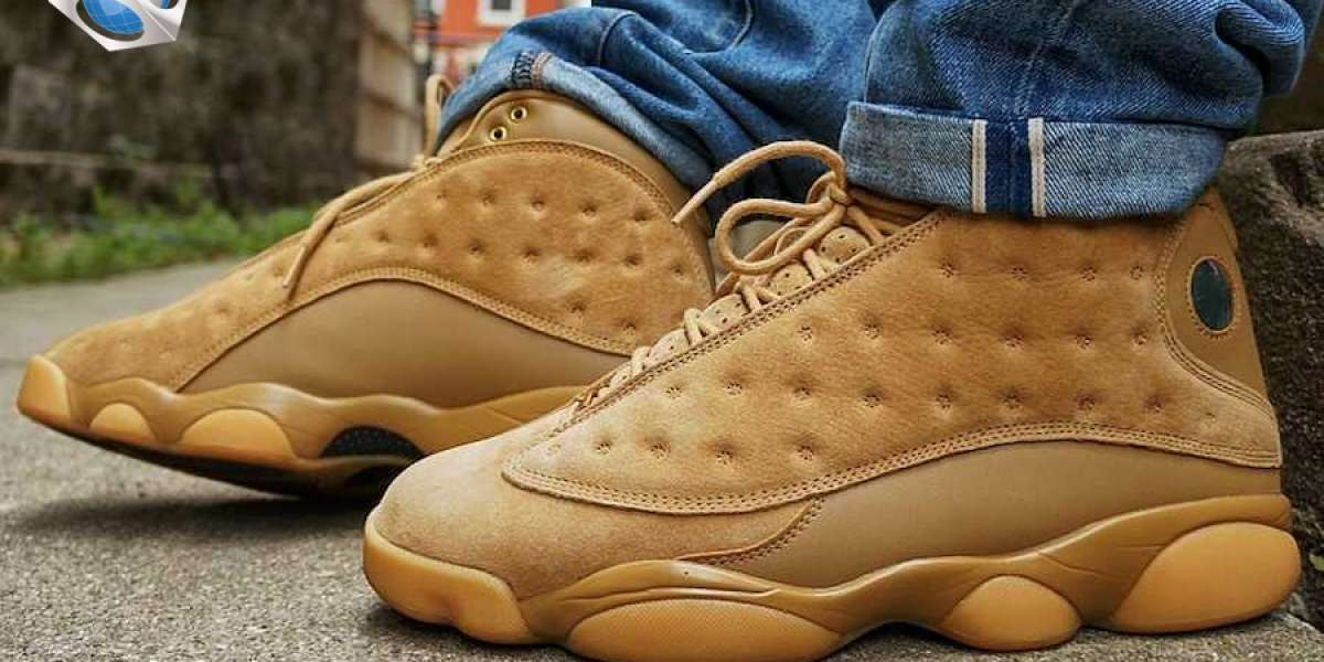 """Tooling style Air Jordan 13 """"Wheat"""" are you satisfied with the top foot?"""