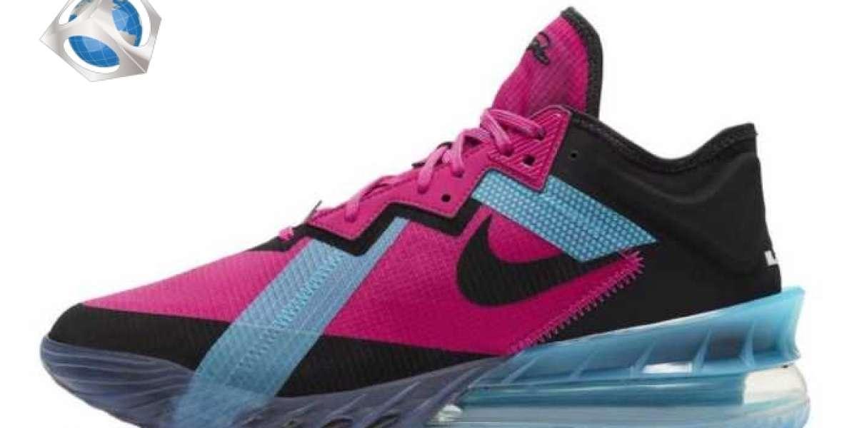 "Nike LeBron 18 Low ""Fireberry"" 2021 New Arrival CV7562-600"