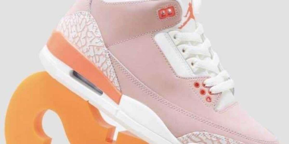"""CK9246-600 Air Jordan 3 WMNS """"Rust Pink"""" Release Information"""