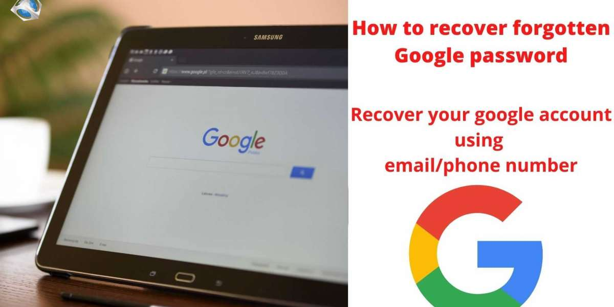 How to recover forgotten Google password