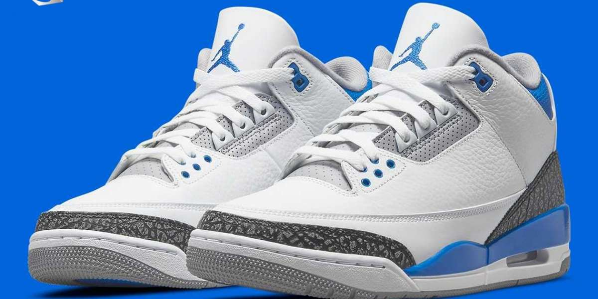 """Air Jordan 3 """"Racer Blue"""" CT8532-145 will be released on July 10th"""