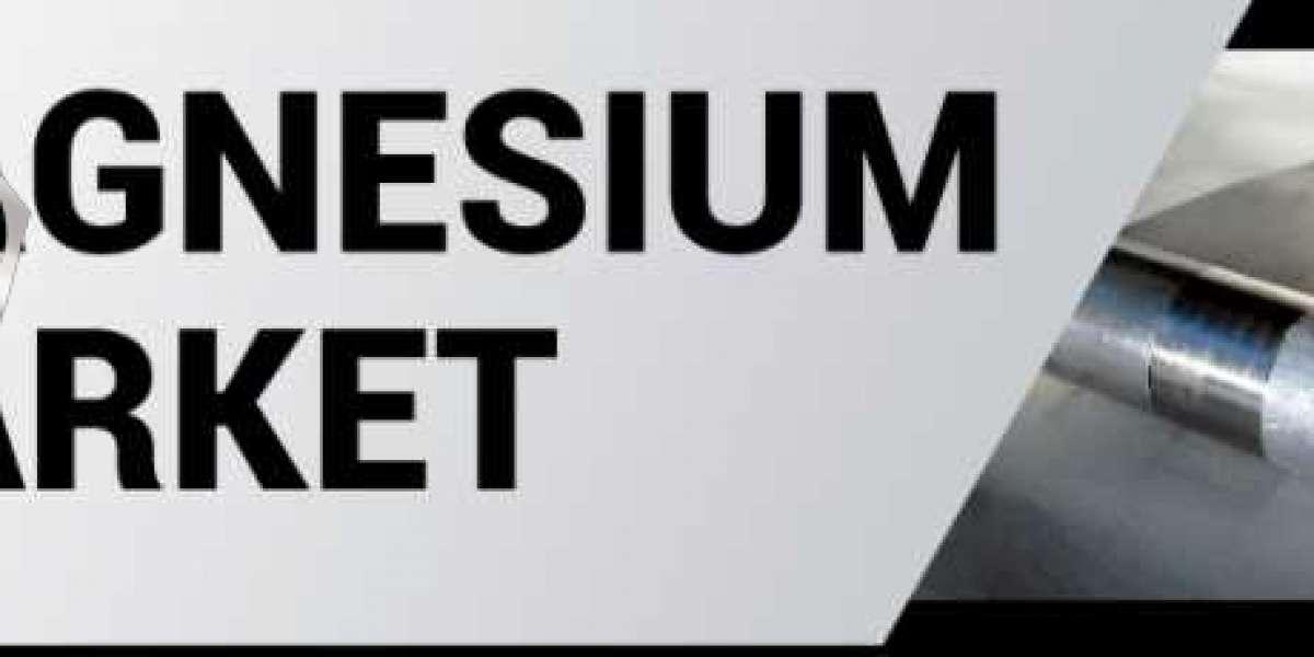 Magnesium Market Global Analysis, Opportunities, Segmentation, Development by 2027