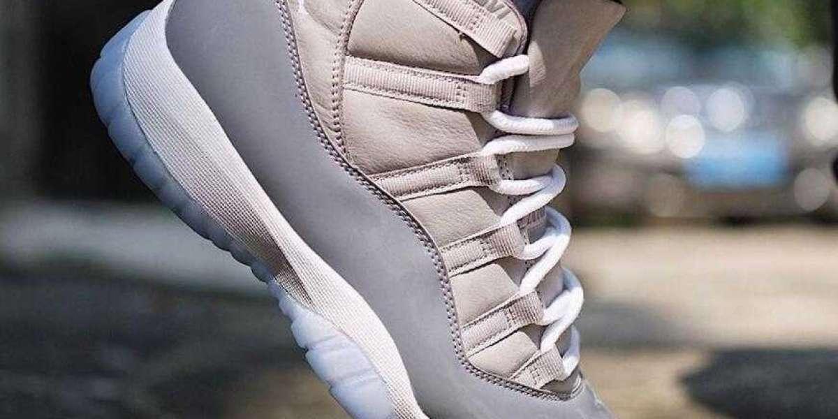 On Feet Look at the Upcoming Air Jordan 11 Cool Grey