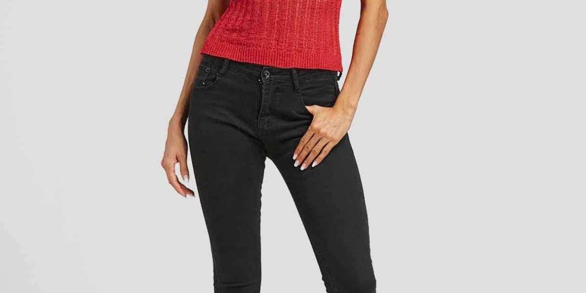 V-Neck Drape Sagging Plain Zip Back Pleated Long Sleeve Blue T-Shirts