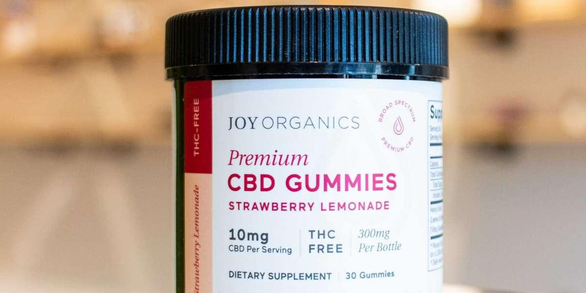 Joy Organics CBD Gummies Best in the market
