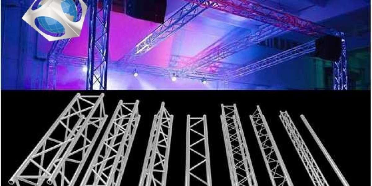 """What does Aluminum stage truss do: help advertisers open up """"new markets"""""""