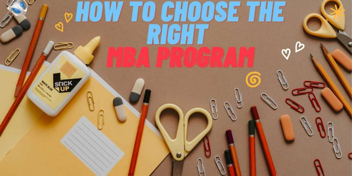 How to Choose the Right MBA Program for You?