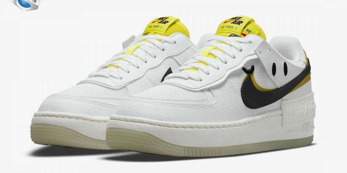 """This Nike Air Force 1 Shadow """"Go The Extra Smile"""" DO5872-100 is unlimited creativity!"""