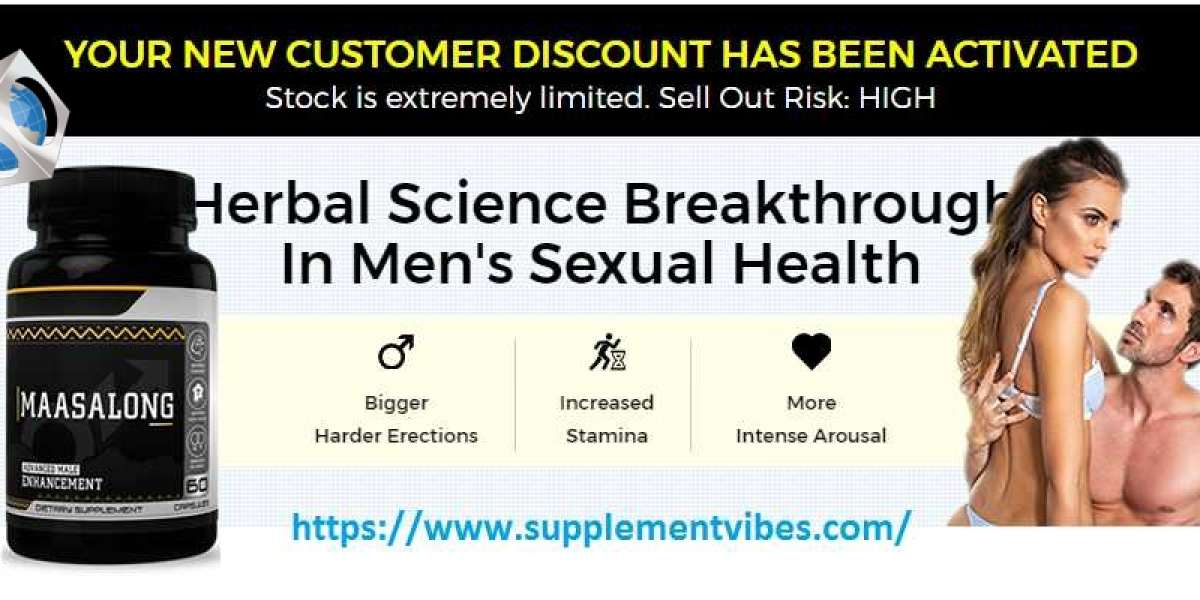 Maasalong Male Enhancement Become STRONG in the Bedroom!