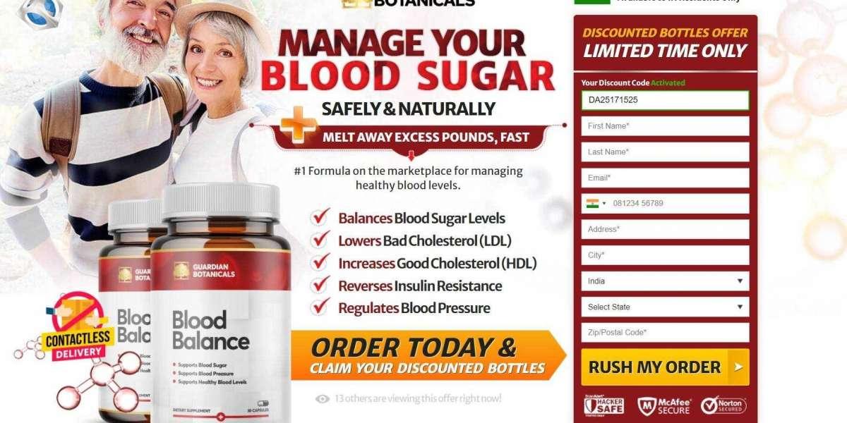 Guardian Blood Balance Advanced Formula Reviews : Scam? Ingredients & Work